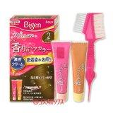 ●送料無料 ビゲン 香りのヘアカラー クリーム 白髪染め 早染めタイプ 2 より明るいライトブラウン Bigen hoyu