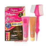 ●送料無料 ビゲン 香りのヘアカラー クリーム 白髪染め 早染めタイプ 3 明るいライトブラウン Bigen hoyu
